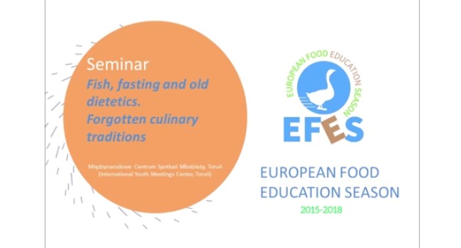Seminar: Fish, fasting and old dietetics. Forgotten culinary traditions