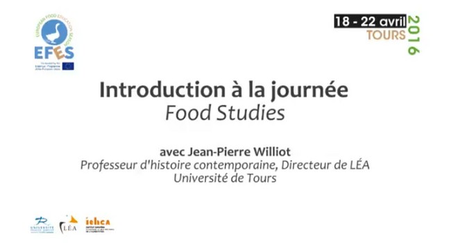 Seminar of Food Studies